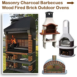Masonry Brick BBQ Ovens