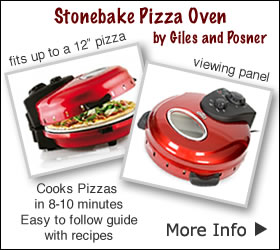 Tabletop Stonebake Pizza Oven